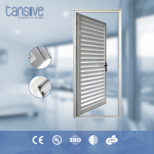 Tansive construction double glazed Swing Open Type Aluminum Material louvered french doors