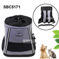 Front pet carrier sided dog carrier
