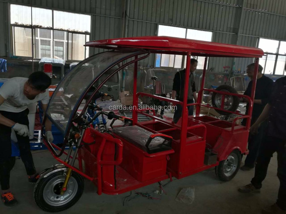 battery auto E-rickshaw bajaj tricycle for passenger with three wheels