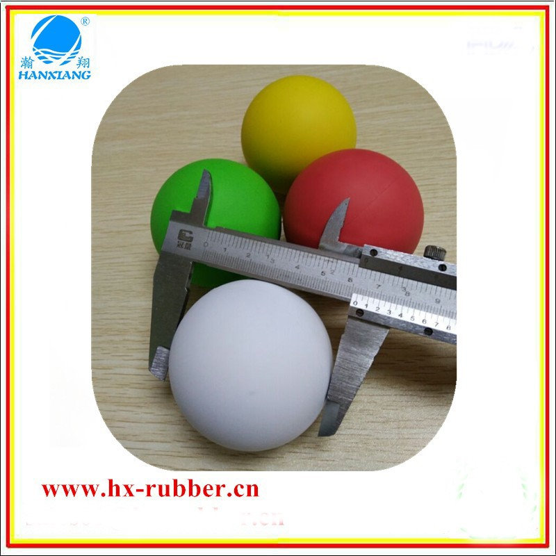 china custom natural rubber balls