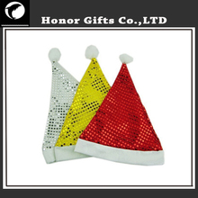 Logo Printed Customized Promotional Non-woven Santa Hat