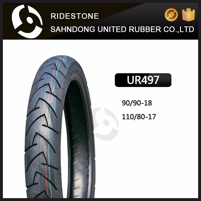 New Tyre 110/80-17 MOTORCYCLE SPORT TUBELESS TIRE 90/90-18