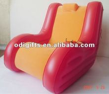 Customized size pvc inflatable sofa chair with speaker