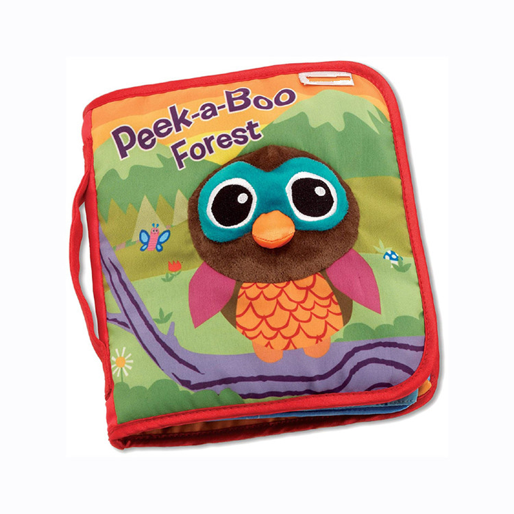 Lamaze Peek-A-Boo Forest, Fun Interactive Baby <strong>Book</strong> with Inspiring Rhymes and Stories voice recorder baby <strong>book</strong>