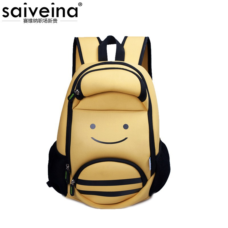 high quality cute cartoon space cotton shoulder backpack from Saiveina
