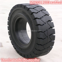 Hot sale sany low loader tyres 8.25-20, 9.00-16 12.00-24 backhoe solid tire with good price