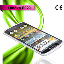 lenovo s920 dual sim card quad core with CE 5.3 inch good quality tecno mobile phone
