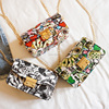 Small Cartoon Printing Chain Sling Small Cell Mobile Phone Leather Shoulder Bags