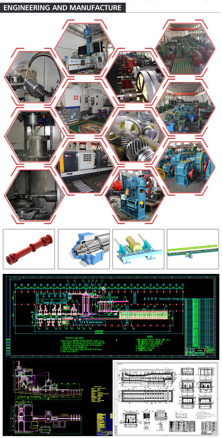 High Quality Hot Rolling Mill Machine Equipment