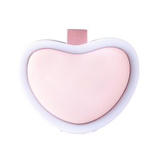 BMQ new hand warmer electric portable usb rechargeable reusable heart shape hand warmer powerbank