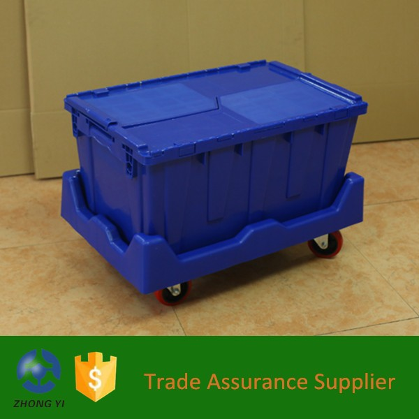3 27*17*12 Plastic Moving Boxes