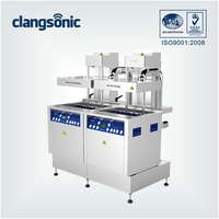 industrial general purpose cleaner ultrasonic cleaning unit/ultrasonic corner cleaning machine with multi-tank designed supplied