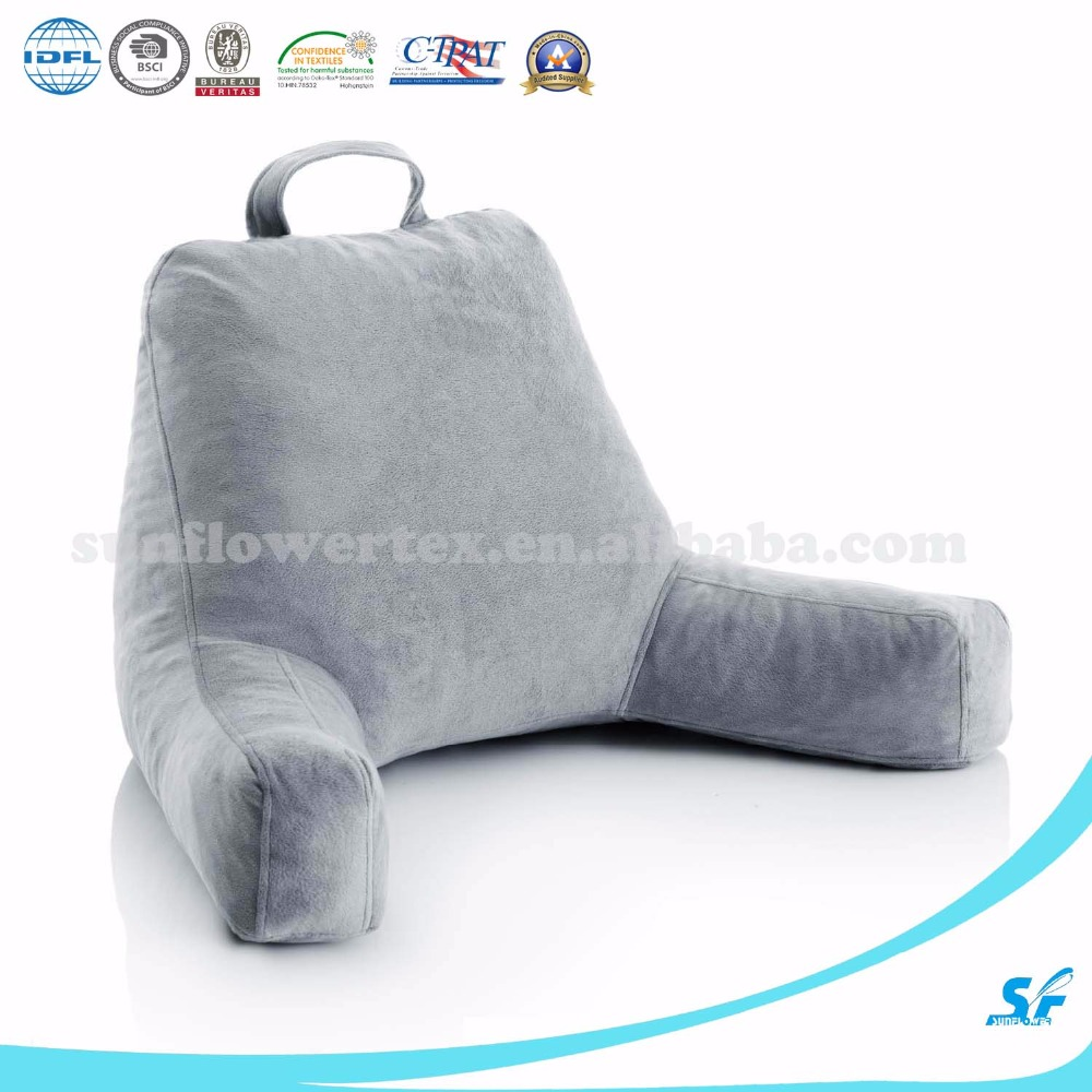 Backrest pillow, TV pillow, Shredded memory foam hug pillow back support pillow back pillow back pillow for bed