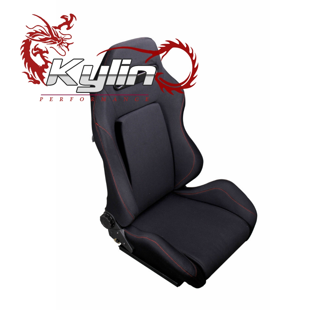 kyling racing Sports Adult Car Booster Racing Leather Car Seat
