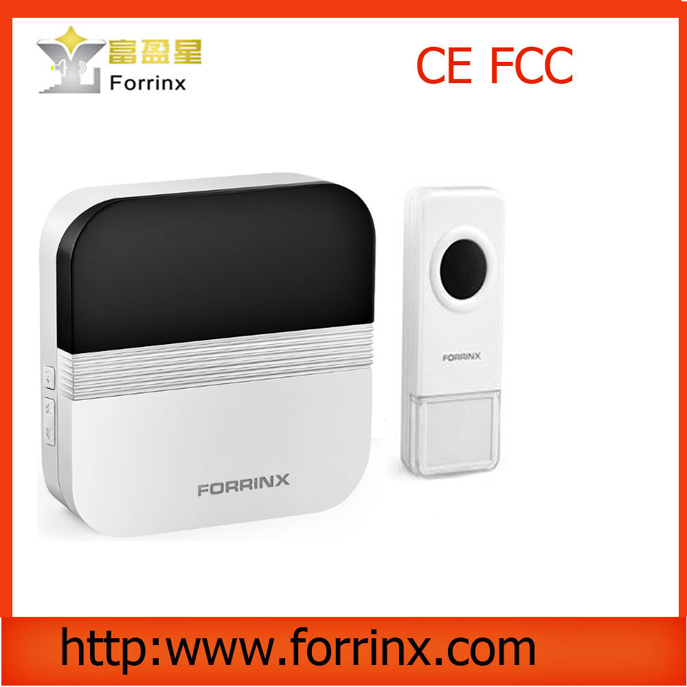 Forrinx supply 52 ringtones 1000ft range AC 110V-220V stylish design wireless doorbell