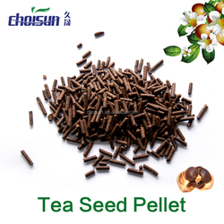 Natural Molluscicide/Tea Seed Pellet extraction from camellia seed/ Organic Fertilizer