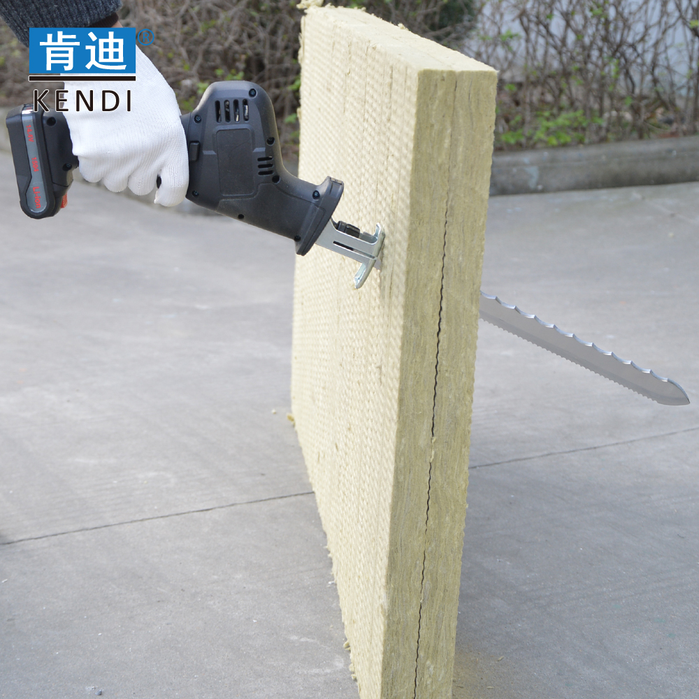 300mm Stainless Steel Mineral Wool Knife for cut Insulation wool with Double Serrated Cutting edges/reciprocating saw
