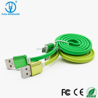 High Quality USB 2.0 to Micro 5pin Data Cable 4 colours for choice