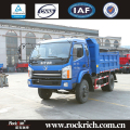 Hot sale 140hp Sitom diesel 10ton volume capacity mini tipper truck
