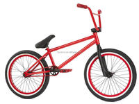 Hot selling freestyle steel frame bmx bike coloured bicycle bmx race red bike