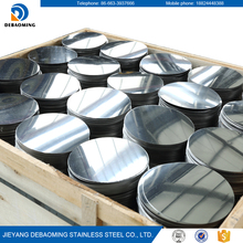 Wholesale natural color BA finish stainless steel circle 410 for kitchenware