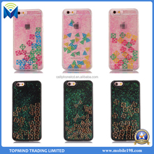 Dynamic Liquid Tetris glitter quicksand Phone Case For Iphone 7