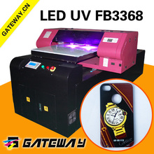 Direct 5 colors 60*150cm cell phone case uv led printing machine to be used for various purpose