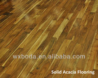 Solid Acacia wood flooring-small leaf Acacia