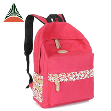 Hot Selling Outdoor Travel Canvas School Bag For Girls Adult