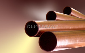 Straight copper alloy Copper Pipe Type brass tubing