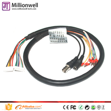 Millionwell BNC DC Control Cable. CCTV OSD cable galaxy s3 tv out cable