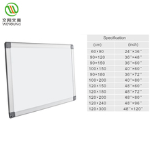 Home school supplies magnetic dry erase writing whiteboard classroom