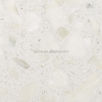 White Artificial Marble Stone With Big Grains