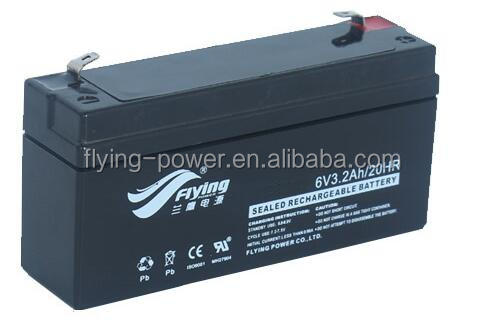 Rechargeable Battery 6V3.2AH for Electric Power Tool UPS Battery