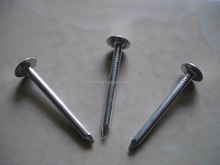 manufacture HDG/EG & Mechanical Galvanised Roofing Nails/Clout Nails