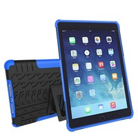 hybrid tough Rugged shockproof tpu tablet pc case for Ipad 5/air 2 tablet