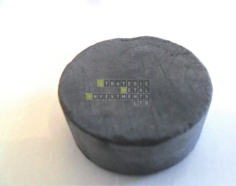 Tungsten Puck 99.9% min.