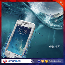Cheap price IPX8 waterproof mobile phone case for iphone 6,for iphone 6 mobile case