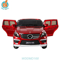 WDDMD168 License car Mercedes Benz ML63 kids race car games, with two doors open
