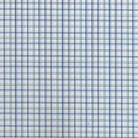leftover stock cotton poplin plaid fabric