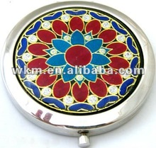 antique metal compact mirrors/ flexible mirror
