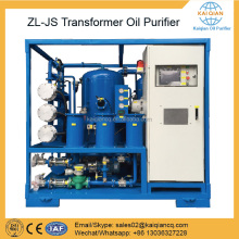 Transformer Oil Purifier Dielectric Oil Treatment Machine