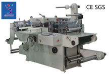PLC controlled kiss cut label die cutting machine for laser film adhesive label die cutter with CE