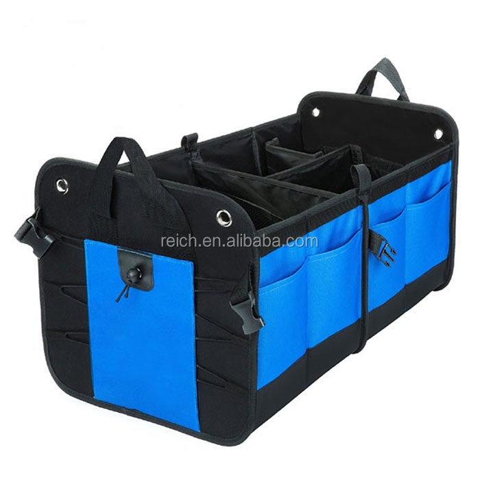 Amazon Best Seller Collapsible Portable Multi Compartments Car Trunk Organizer
