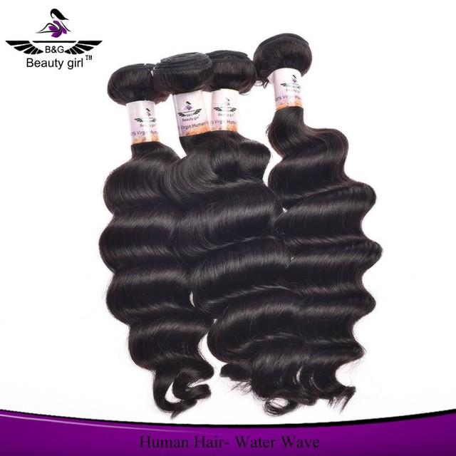 Top grade unprocessed wholesale burmese hair , peruvian hair weave cheap wet and wavy human hair