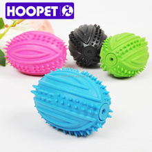 HOOPET different colors natural rubber wholesale dog happy pet toy
