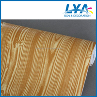 wood grain self adhesive foil for covering floor, wall, furniture