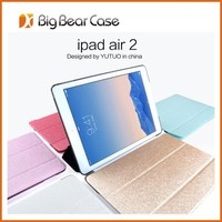 Multi-function with stand tablet cover for apple ipad air 2