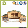SDR14 wooden cheap outdoor custom design rabbit house