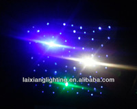 2012-2015 plastic fiber optical for ceiling decoration, ceiling decoration blink stars